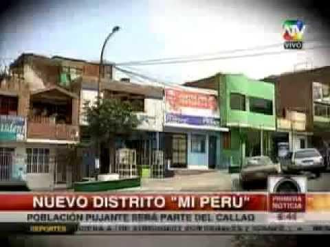 Mi Perú nuevo Distrito - canal 9 ATV