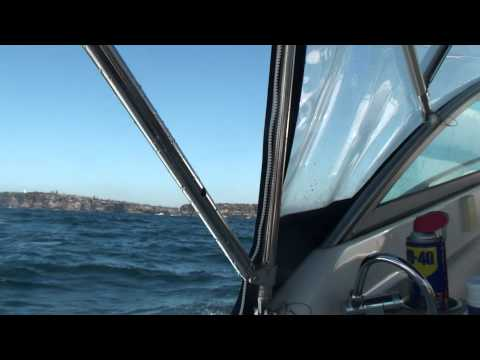 Sailing the high seas off Manly Beach then coming into Sydney Harbour through the heads