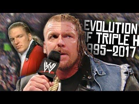 The Evolution of Triple H! - WWF/WWE (1995-2017)