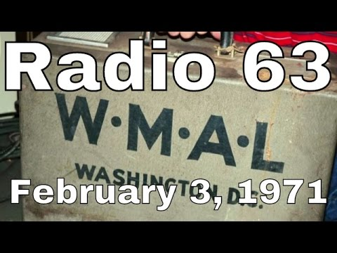 WMAL Radio 63 Washington DC February 3, 1971