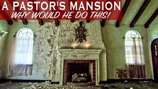 Abandoned Mini Mansion with a built-in Wurlitzer Church Organ