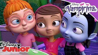 💪 Dam radę! - Kompilacja | Vampirina | Disney Junior Polska