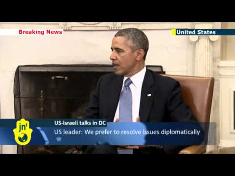 Netanyahu at the White House: Israeli PM tells Obama Iran must scrap nuke plans entirely