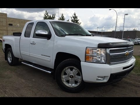 Pre Owned White 2011 Chevrolet Silverado 1500 4WD Ext Cab ...
