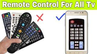 Remote control  for all TV | smartphone ko TV remote kaise banaye | TV remote control app screenshot 1
