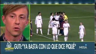 Guti contesta a Piqué tras su cruce de declaraciones con Arbeloa