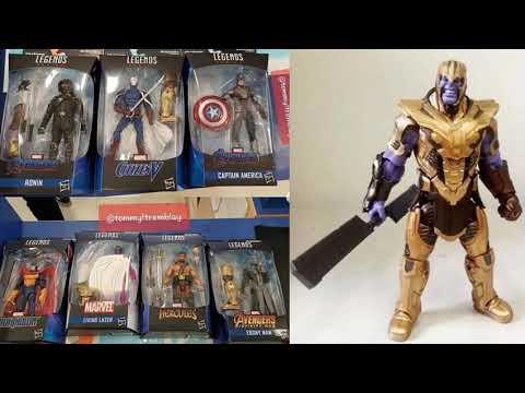 Marvel Legends  Avengers Endgame CITIZEN V Armored Thanos LOOSE NO BAF-IN STOCK