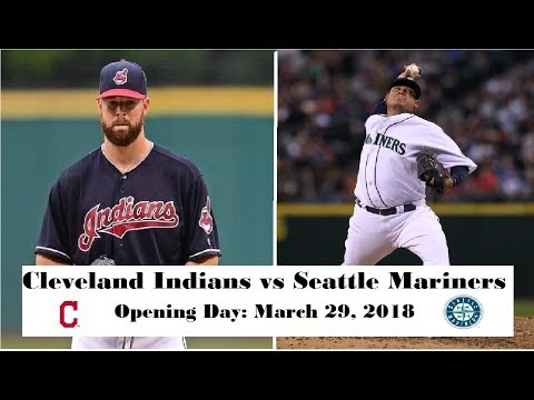Cleveland Indians vs Seattle Mariners Highlights || Opening Day: March 29, 2018