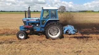Stuck tractors, finishing drains november 2016 waikato nz
