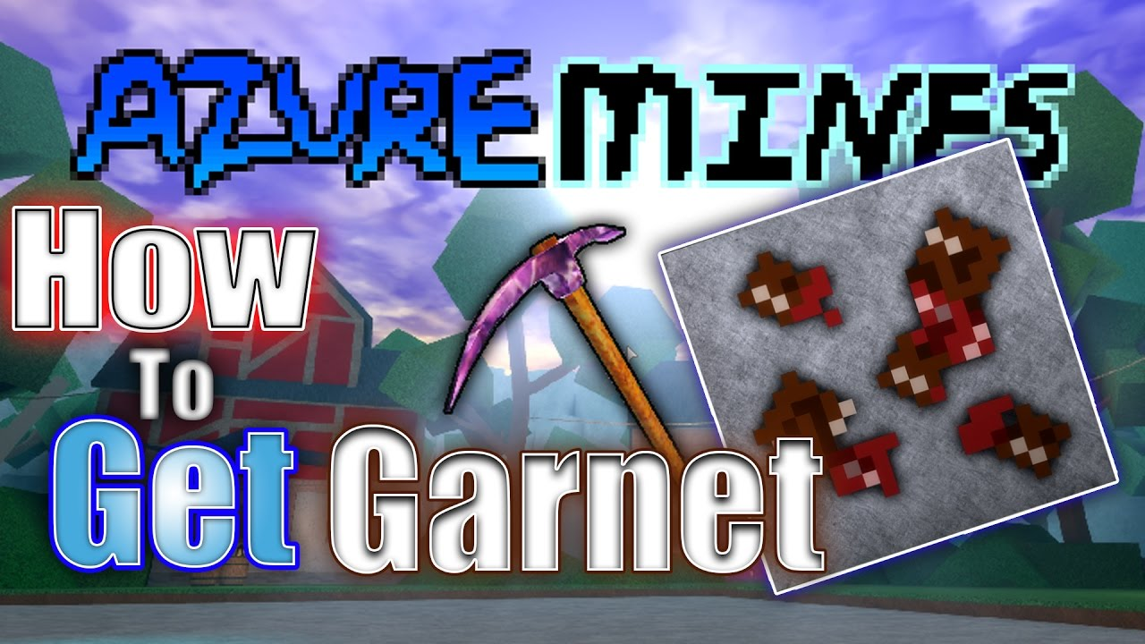 ✔️How To Get Garnet in Azure Mines | Azure Mines [WITH PROOF]