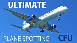 Ultimate Plane Spotting at Corfu Airport (CFU / LGKR) [1080p HD]