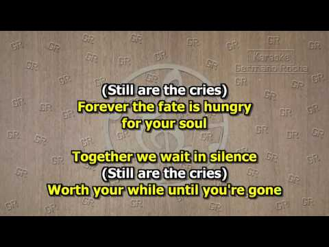Angra - Waiting Silence (Karaoke)