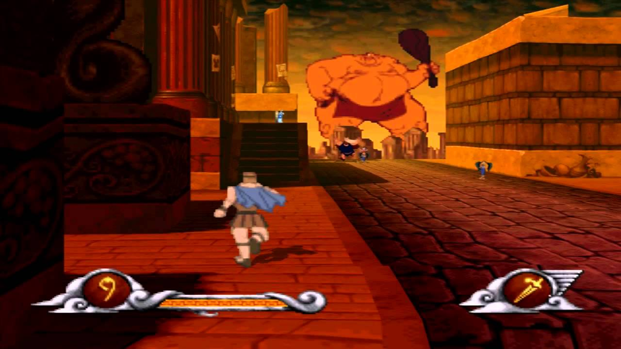 Disney's Hercules (PS1) walkthrough - Cyclops Attacks ...