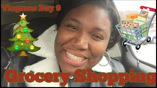 Vlogmas Day 9| Grocery shopping with me