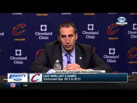 Cleveland Cavaliers head coach David Blatt defends LeBron James' frustration with lack of calls