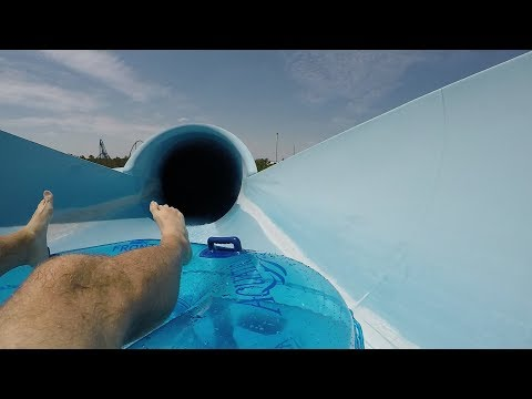 A Day At Aquatica Orlando Water Park | New Slide POVs, Ray Rush Contruction Site Tour & Lockers