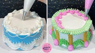Tips Cake Decorating Tutorial Ideas | Most Satisfying Chocolate Cake Recipes | Cake Designs 2021