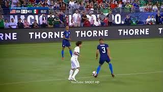 Chelsea Player, Matt Miazga MOCKS Opponent, Diego Lainez For Being SHORT During Football Match