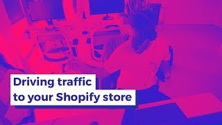 Drive a traffic tsunami to your Shopify store