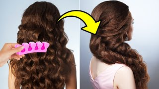25 SIMPLE HAIRSTYLE IDEAS AND HAIR HACKS