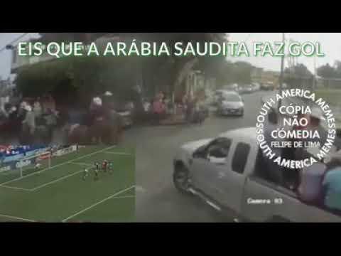 Eis que a Arábia Saudita faz gol