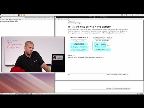 Video Classroom Preview - Authoring Rules with Red Hat JBoss BRMS (JB461)