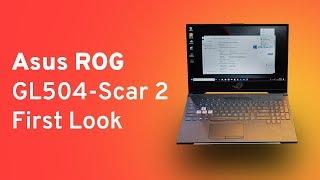 Asus ROG Strix SCAR II (GL504) Gaming Laptop First Look   Digit.in