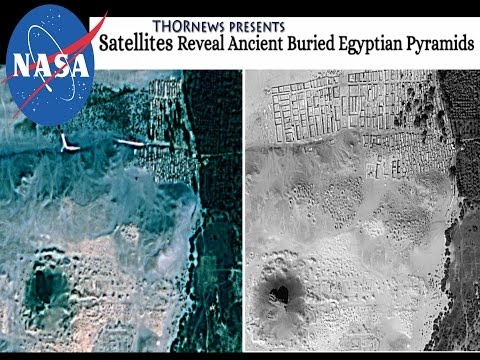 NASA satellites find Ancient Egyptian Pyramids!