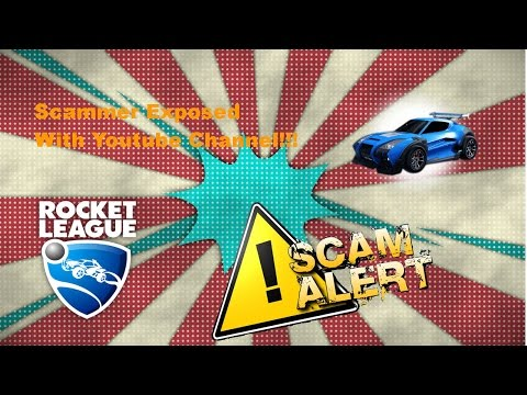Scammer Exposed With Evidence In Rocket League!!!
