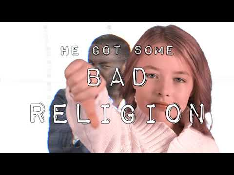 bad religion dedicated to mean preachers everywhere. jimmie bratcher blues rock lyric video