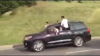 свадебный кортеж на ВОАД в Алматы устроил беспредел, 4 августа, видео  Вадим Ибрагимов