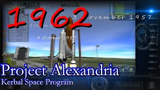 1962 History of Spaceflight in RSS / Project Alexandria-09 / KSP 1.0.4