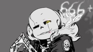 Nightcore - Gaster! Sans Stronger Than You Parody Cover