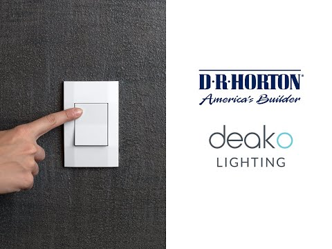 Deako Lighting to Provide Plug-N-Play Light Switches to D.R....