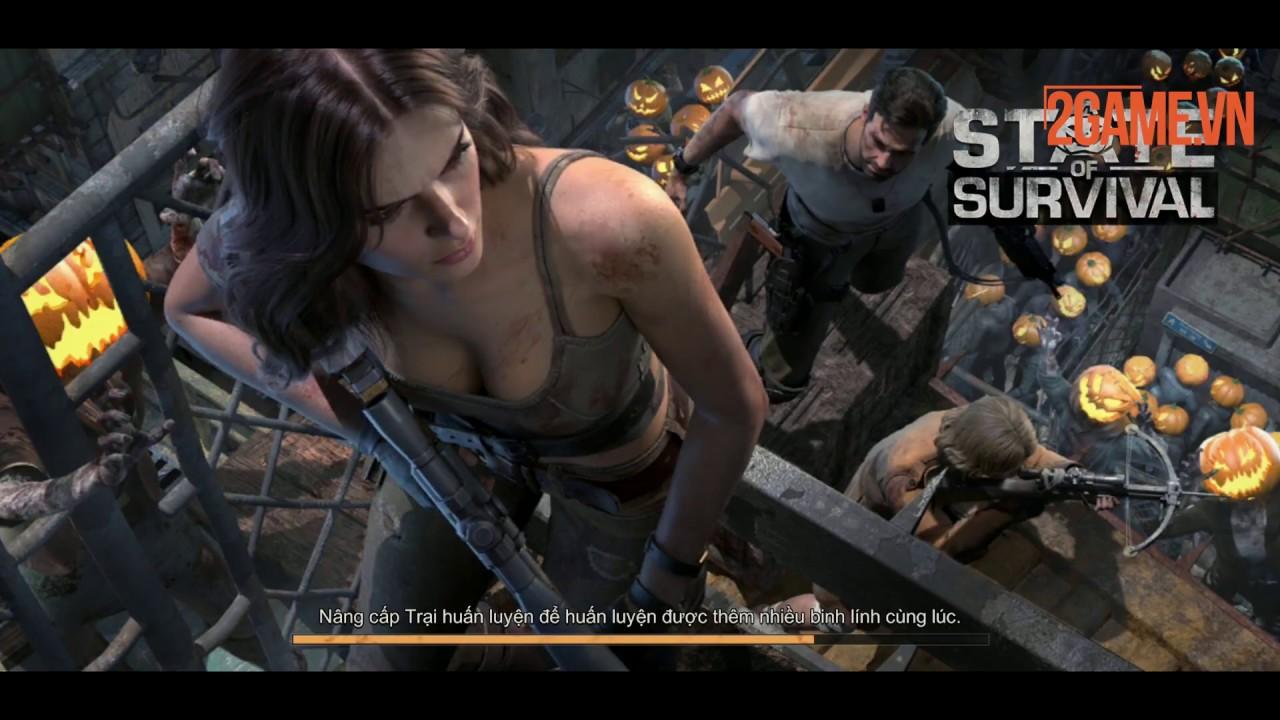 State of Survival – Game chiến thuật sinh tồn đề tài zombie với những khung cảnh chân thực