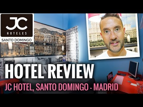 Hotel Room Review: JC Hotels Santo Domingo Madrid Spain