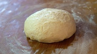 Quick and Easy Homemade Pizza Dough  SAM THE COOKING GUY recipe