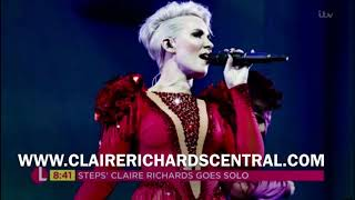 Claire Richards | On My Own | Lorraine Behind-The-Scenes