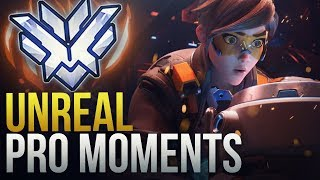 UNREAL PRO MOMENTS - Overwatch Montage