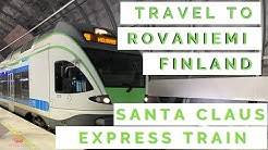 Santa Claus Express Train: Travel to Rovaniemi, Finland