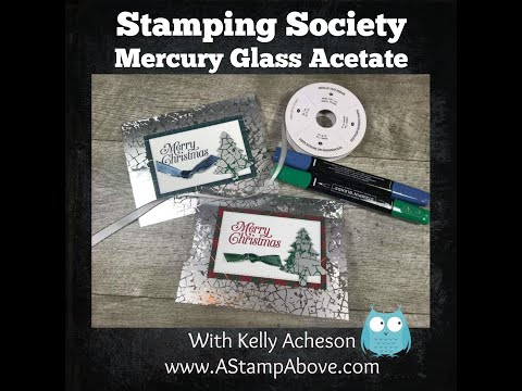 Mercury Glass Tree