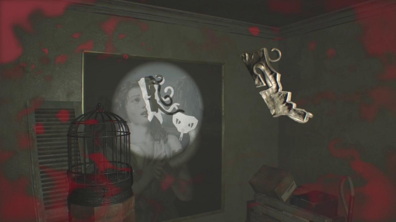 Resident Evil 7 Bedroom Dlc Turn The Lantern Hooks Into Medusa Head