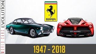 W.C.E - Ferrari Evolution (1947 - 2018)