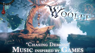 """Audio reImagined - """"Chasing Demons"""" (inspired by Woolfe - The Red Hood Diaries)"""