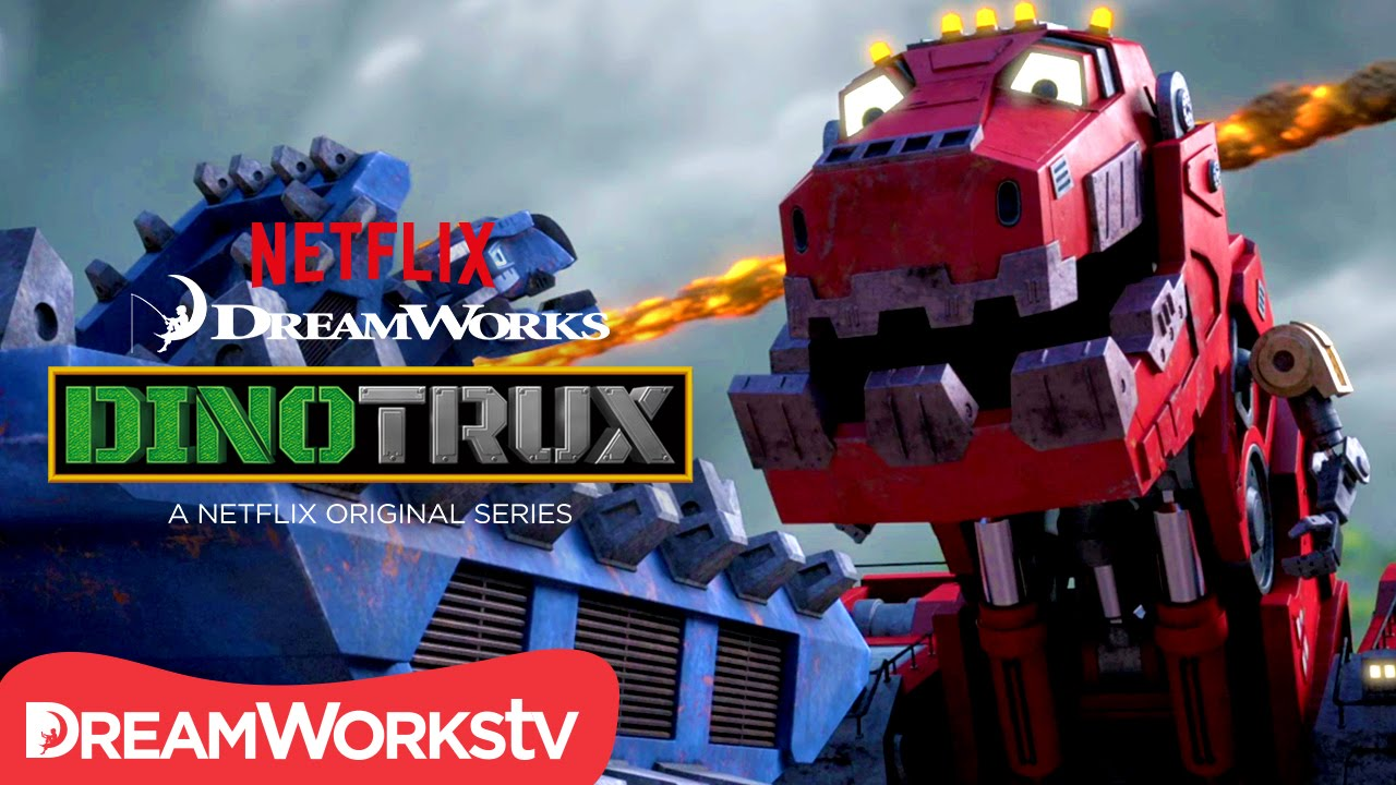 First 11 Minutes Of Episode 1 Dinotrux Youtube