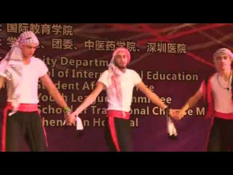 Palestinian Dabka in Southern Medical University- Guangzhou- China