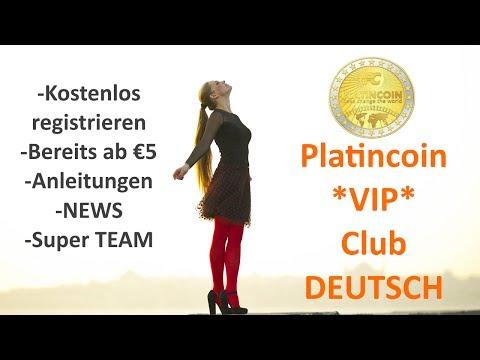 Platincoin - *VIP Club* DEUTSCH - PLC Group - Blockchain