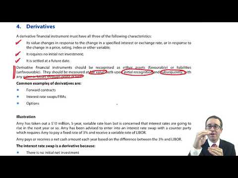 Derivatives - ACCA (SBR) Lectures