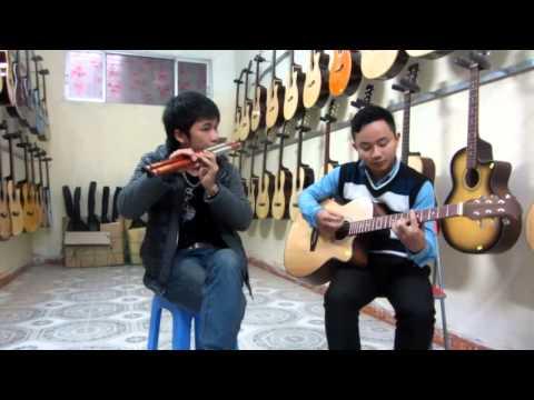 con bướm xuân cover sáo mèo + guitar Mão Mèo, Văn Anh that