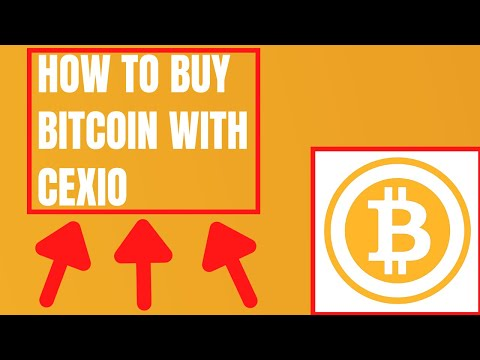 Cex Io - How To Buy Bitcoin With Cexio